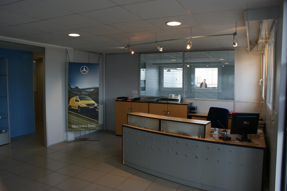 Agencement bureau professionnel Rouen